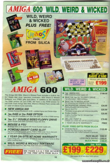 amiga 600 wild weird wicked