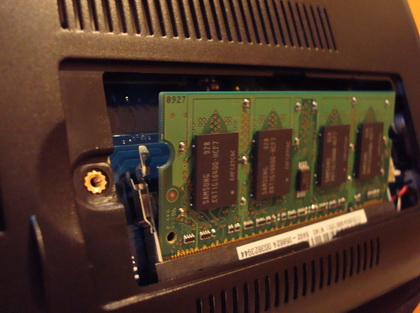 samsung n140 memory slot 2