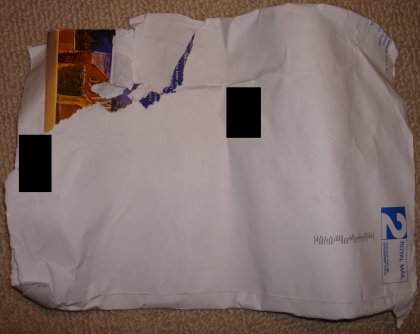 royal mail fail damaged letter front