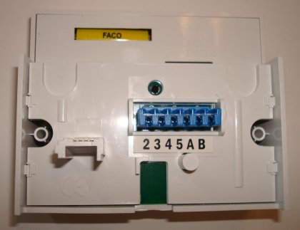 nte5 adsl faceplate back rear