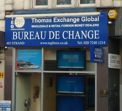 Thomas Exchange Global foreign currency exchange London