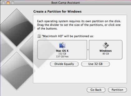 boot camp mac to windows