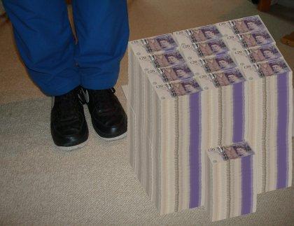 one million pounds