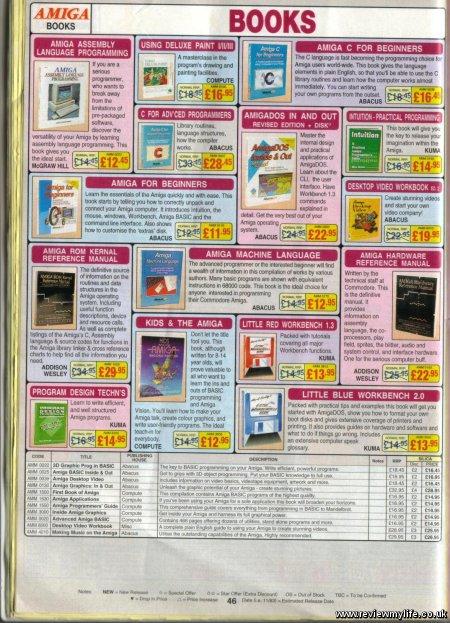 amiga books