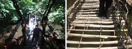shikoku mura museum vine bridge 04