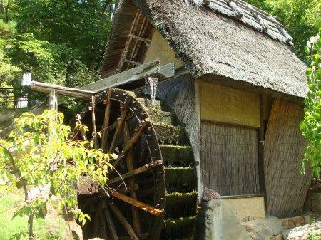 shikoku mura museum water wheel 08