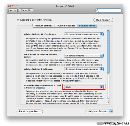 trusteer rapport for mac 4
