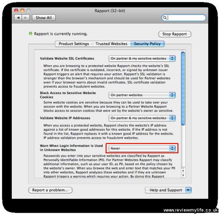 trusteer rapport for mac 4