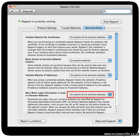 trusteer rapport for mac 5