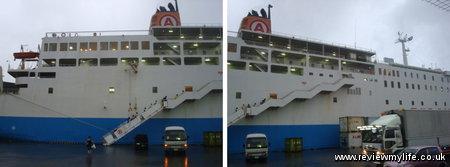 naha kagoshima ferry 06