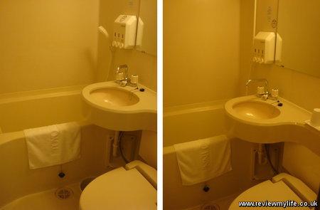 toyoko inn bathroom 2