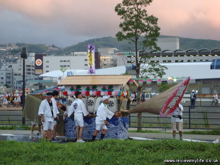 nagasaki spirit boat procession 7