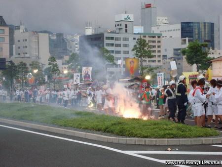 nagasaki spirit boat procession 8
