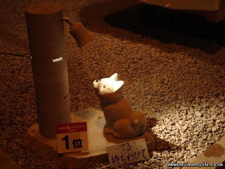 mure gempei stone lanterns 1stprize