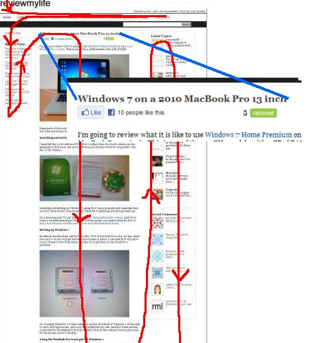 rml page load order facebook twitter